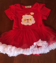 Božićna haljinica za bebu
