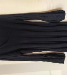 crna zimska haljina 42 44, rezervirana