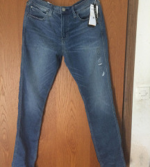 h&m muške tech stretch skinny jeans - s etiketom