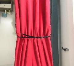 Mango crvena haljina