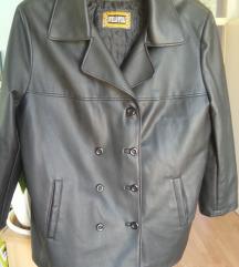Oversized ženska kožna PVC rock jakna vel. 46