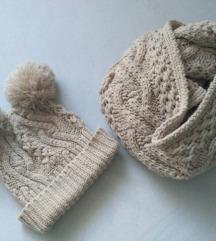 zimska kapa i šal