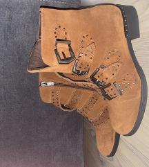 Nove čizme brušena koža