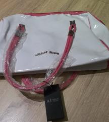 Armani Jeans bijela torba