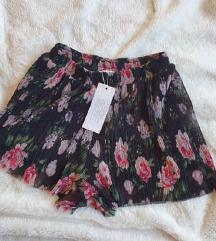 Nove s etiketom floral plisirane hlače, Amisu