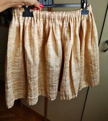 Zlatna suknja na lastik