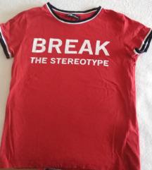 Majica crvena