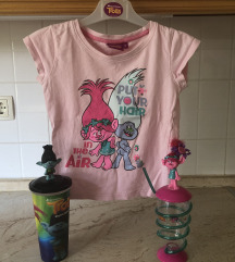 Trollovi set majica + čaše
