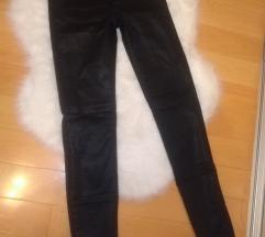 Kožne H&M hlače 34