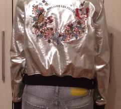 Zara bomber kožna jakna -nova
