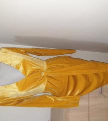 NOVA zuta haljina