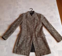 Zara sivi kaput  / sako 🤍🖤