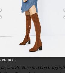 Zara cizme 39 uklj pt
