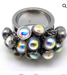 Swatch dizajnerski prsten,vel.8