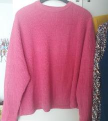 Jarko rozi pulover Bershka