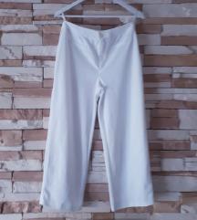 % Bijele culotte hlače M