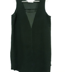 Nova Mango crna haljina M GRATIS PT