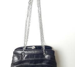 Crna mala večernja torbica ZARA novo