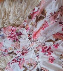 Floral jumpsuit za spavanje