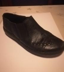 Ženske cipele kožne, crne, 39