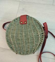 Okrugla torba od rafije