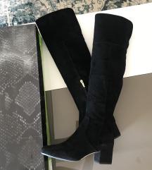 Sam Edelman crne čizme preko koljena 38