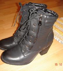 Crne military čizme