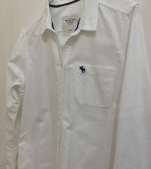Abercrombie & Fitch muška bijela košulja