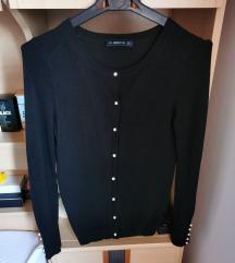 Zara crni karding s biserima