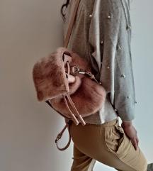 Pink cupavi ruksak iz Zare