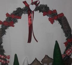 Maxi božićni vijenac za vrata
