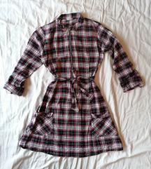 Karirana haljina / tunika