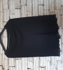 Crna suknja lepršava