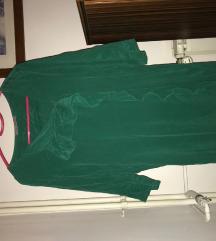 Marella smaragdno zelena elegantna haljina
