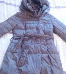 Siva zimska jakna