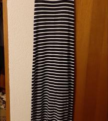 Ljetna uska prugasta haljina
