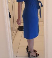 Kraljevskoplava haljina M-L (uključena ppt)
