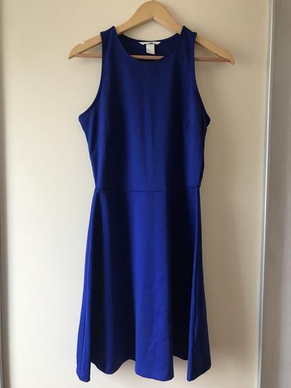 Lepršava plava haljina