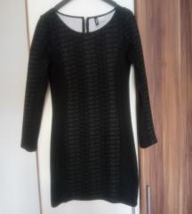 H&M crno siva haljina - gratis pt.