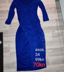 haljina asos xs