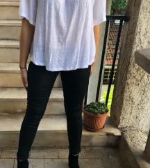 Bijela lanena majica
