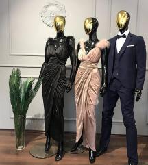 Crna svečana haljina 42/XL