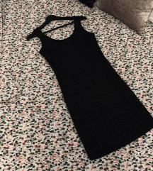 Nova New Yorker crna metalik haljina