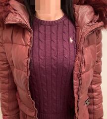 Pinko jakna s pravim krznom