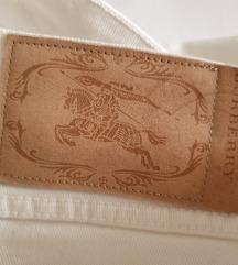BURBERRY bijela traper suknja