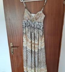 Duga leopard haljina NOVA