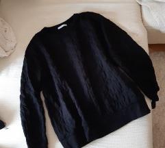 Zara blogerska majica/sweatshirt crna