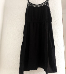 H&m crna haljina