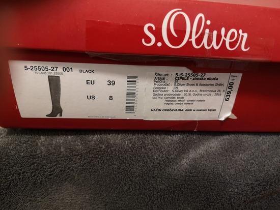 s Oliver visoke cizme