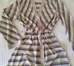Jesenska haljina na preklop